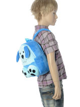Sac à Dos Mini Animal Bleu kids KIDNI02-vue-porte