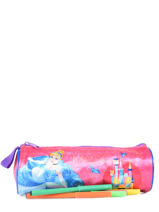 Trousse 1 Compartiment Disney Multicolore princess AST4917-vue-porte