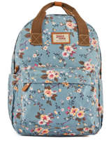 Sac à Dos 1 Compartiment Basilic pepper Bleu liberty G657-FLO