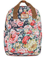 Sac à Dos 1 Compartiment Basilic pepper Multicolore liberty G657-FLO