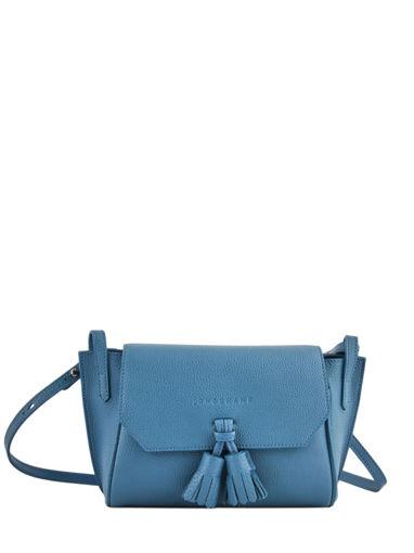 Longchamp Pénélope Sac porté travers Bleu