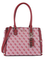 Sac Shopping Florence Guess Rouge florence SG699109