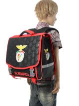 Cartable 2 Compartiments Benfica Multicolore sl benfica 173E203S-vue-porte
