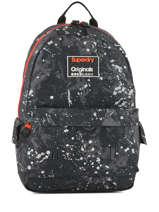 Rugzak 1 Compartiment Superdry Zwart backpack men M91004MR