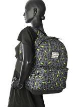 Rugzak 1 Compartiment Superdry Zwart backpack woomen G91001JR-vue-porte