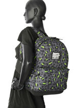 Sac à Dos 1 Compartiment Superdry Noir backpack woomen G91001JR-vue-porte