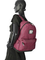 Sac à Dos 1 Compartiment Superdry Rose backpack woomen G91006JR-vue-porte