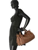 Sac Shopping Gd Cuir Gerard darel Noir gd DGS07410-vue-porte