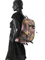 Sac à Dos 1 Compartiment Dakine Rose girl packs 8130060W-vue-porte