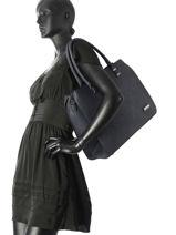 Sac Shopping Format A4 Gallantry Bleu format a4 M9216-vue-porte