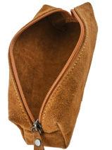 Etui Leder Milano Bruin velvet VE151101-vue-porte