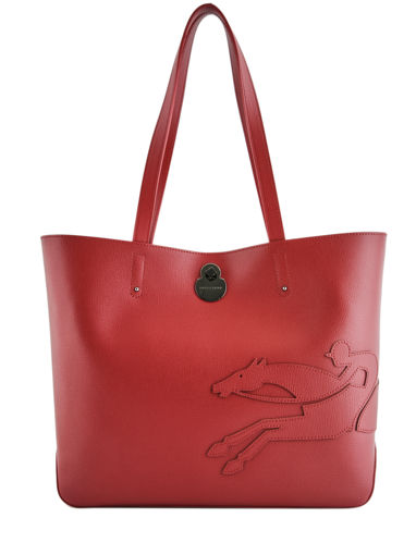 Longchamp Shop-it Besace Rouge