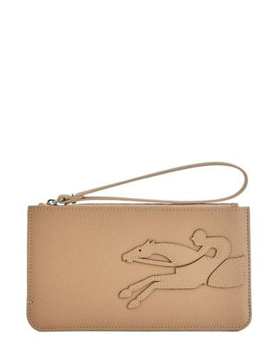 Longchamp Shop-it Pochette Beige