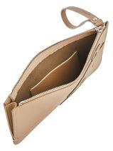 Longchamp Shop-it Pochette Beige-vue-porte