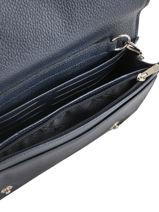 Longchamp Le foulonné Portefeuille Bleu-vue-porte
