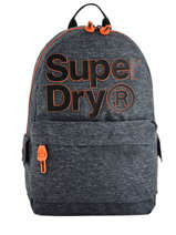 Sac à Dos 1 Compartiment Superdry Gris backpack men M91000MR