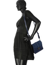 Sac Bandoulière Luga Milano Bleu luga LU19062-vue-porte
