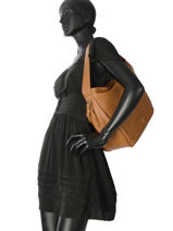 Besace Daily Leather Patrizia pepe Noir daily leather 2V8255-vue-porte