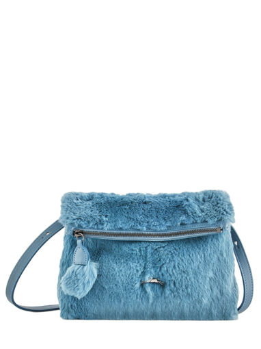 Longchamp Give me a hug Sac porté travers Bleu