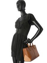 Sac Shopping Hortensia Woomen Marron hortensia WHORT03-vue-porte