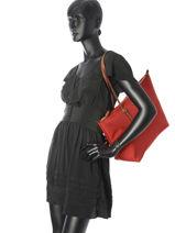 Sac Shopping En Nylon L Chadwick Lauren ralph lauren Rouge chadwick 31687516-vue-porte