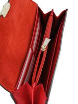 Portefeuille Cuir Furla Rouge metropolis EPO-PU37-vue-porte