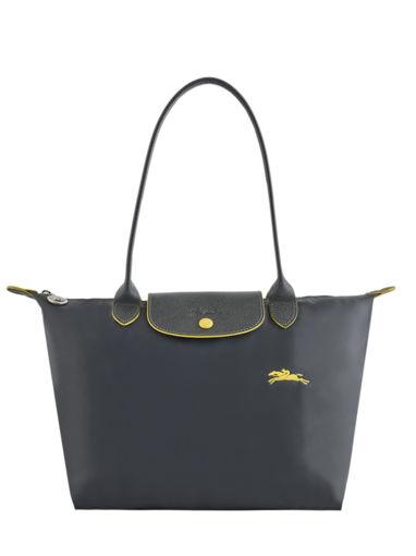 Longchamp Le pliage club Besace Noir