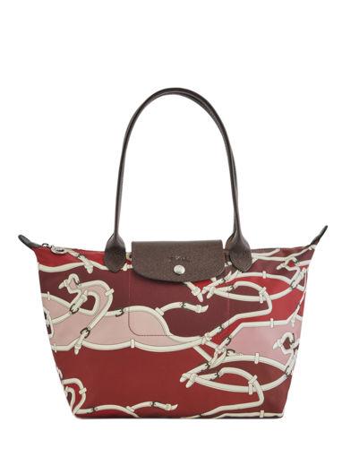 Longchamp Le pliage galop Besace Rouge