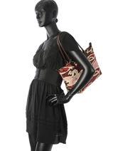 Longchamp Le pliage galop Besace Rouge-vue-porte