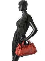 Sac Shopping Gd Cuir Gerard darel Rouge gd DGS07410-vue-porte