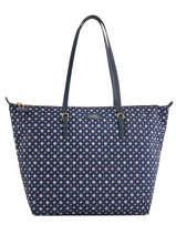 Sac Shopping En Nylon L Chadwick Lauren ralph lauren Bleu chadwick 31687516
