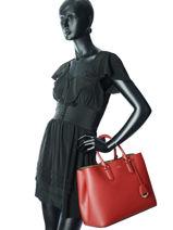 Handtas Dryden Leder Lauren ralph lauren Zwart dryden 31697680-vue-porte