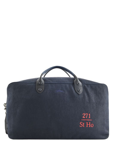 Longchamp 271 st ho toile Sac de voyage Bleu