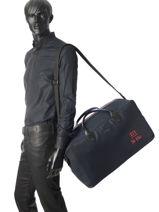 Longchamp 271 st ho toile Sac de voyage Bleu-vue-porte