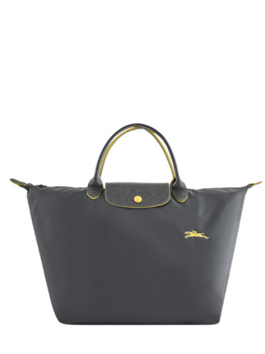 Longchamp Le pliage club Sac porté main Gris