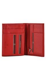 Portefeuille Cuir Hexagona Marron toucher 627609-vue-porte