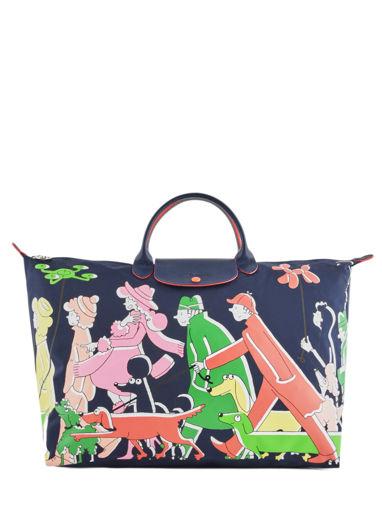 Longchamp Le pliage illustration Sac de voyage Noir