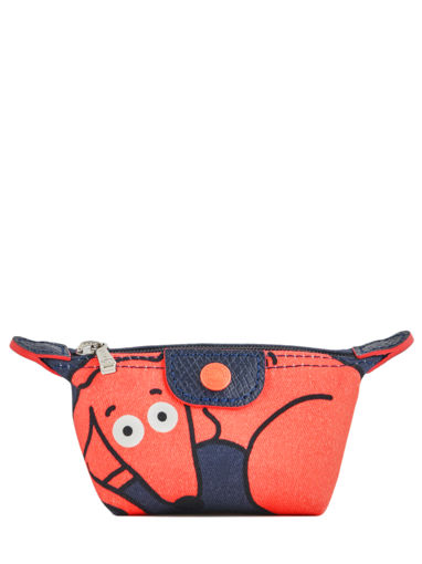 Longchamp Le pliage illustration Porte monnaie Bleu