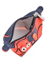 Longchamp Le pliage illustration Porte monnaie Bleu-vue-porte