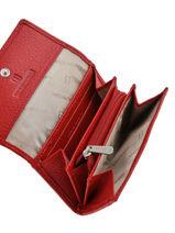 Porte-monnaie Cuir Hexagona Rouge toucher 627443-vue-porte