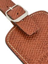 Longchamp Boxford Marron-vue-porte