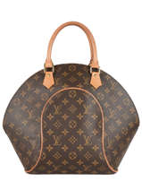 Preloved Louis Vuitton Handtas Ellipse Monogram Brand connection Bruin louis vuitton 60