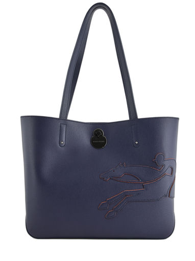 Longchamp Shop-it Besace Bleu