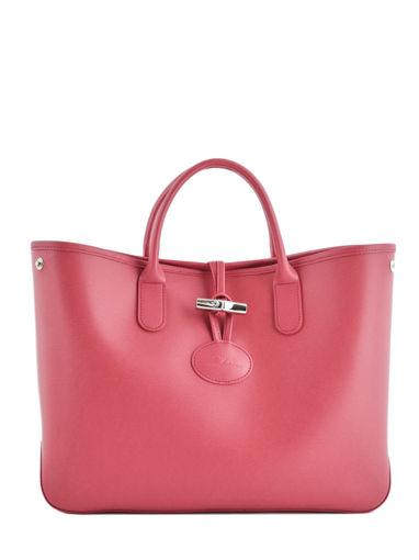 Longchamp Roseau Sac porté main Rose