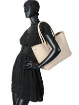 Longchamp Roseau Besace Noir-vue-porte