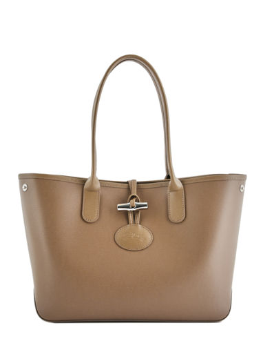 Longchamp Roseau Besace Marron