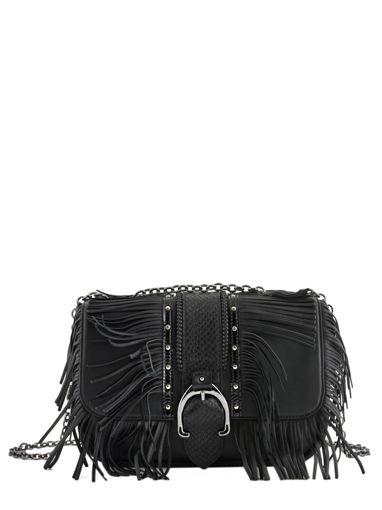 Longchamp Amazone rock Besace Noir