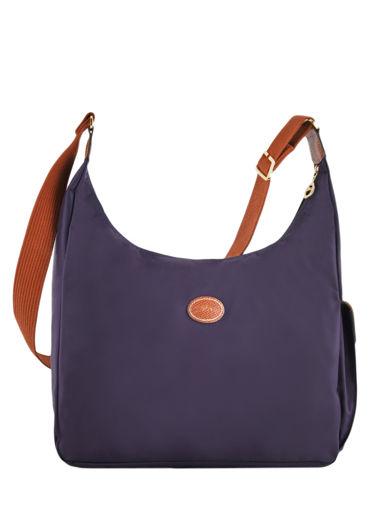 Longchamp Le pliage Sac porté travers Violet