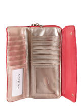 Portefeuille Guess Rouge sweet candy VG717562-vue-porte