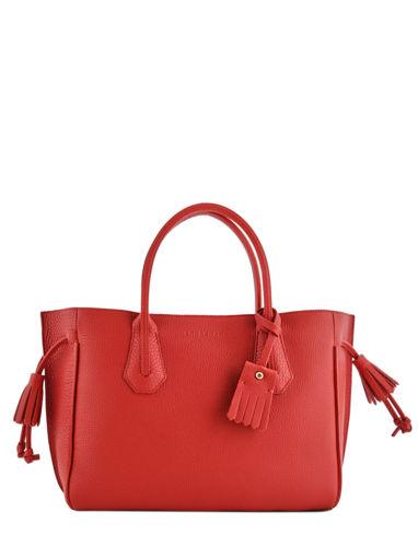 Longchamp Pénélope Sac porté main Rouge